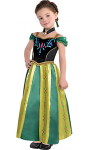 Toddler Girls Anna Coronation Costume - Frozen